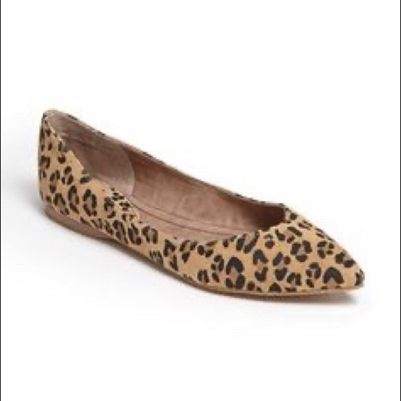 bp Shoes | Leopard Print Flats With